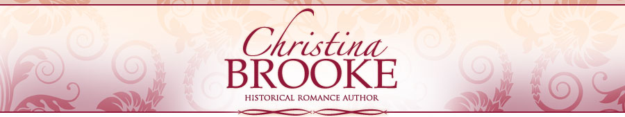 Historical Romance Author Christina Brooke